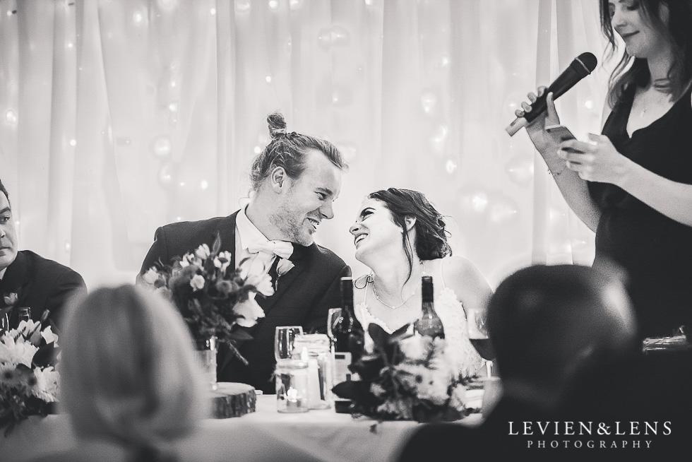 bride and groom reception St Margarets Cafe - Karaka {Auckland lifestyle wedding photographer}