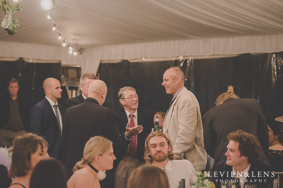 guests at reception St Margarets Cafe - Karaka {Auckland lifestyle wedding photographer}