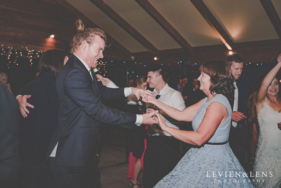 groom with mum dance St Margarets Cafe - Karaka {Auckland lifestyle wedding photographer}