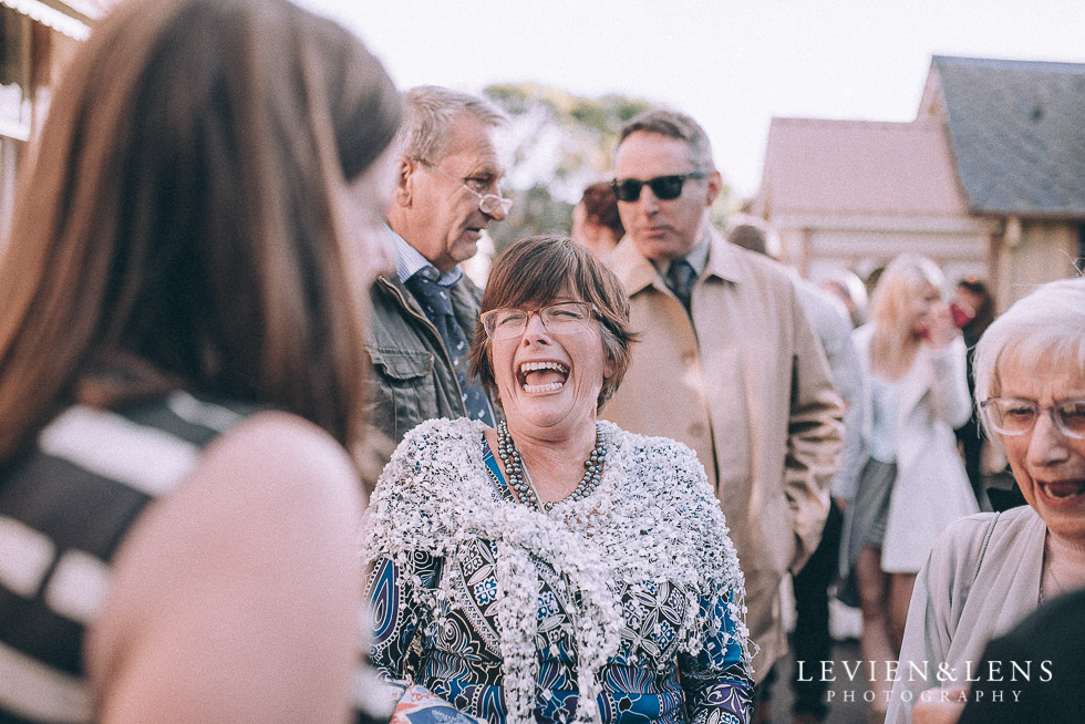guests - candid moments after ceremony - Highwic historic house-museum winter wedding {Auckland NZ lifestyle weddings photographer}