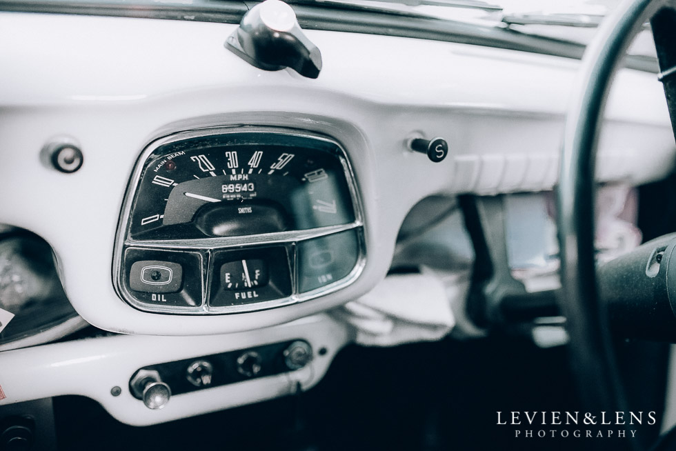 retro car - Highwic historic house-museum winter wedding {Auckland NZ lifestyle weddings photographer}