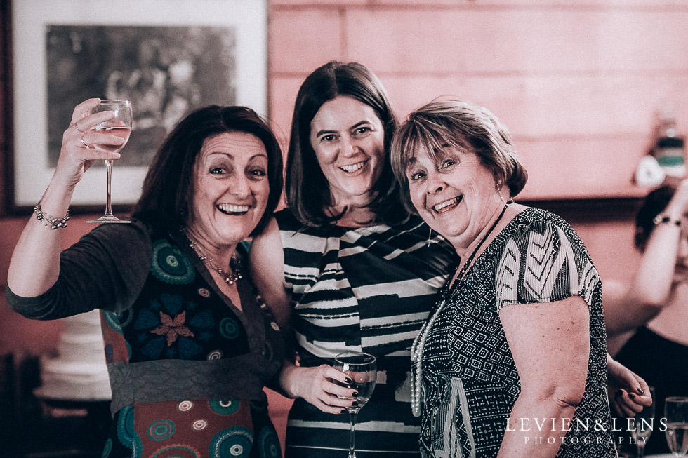 guests at reception Highwic historic house-museum winter wedding {Auckland NZ lifestyle weddings photographer}