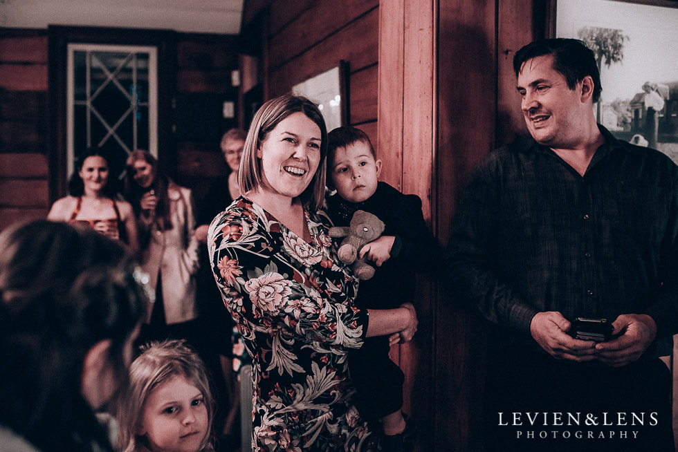 guests watching speeches - reception Highwic historic house-museum winter wedding {Auckland NZ lifestyle weddings photographer}