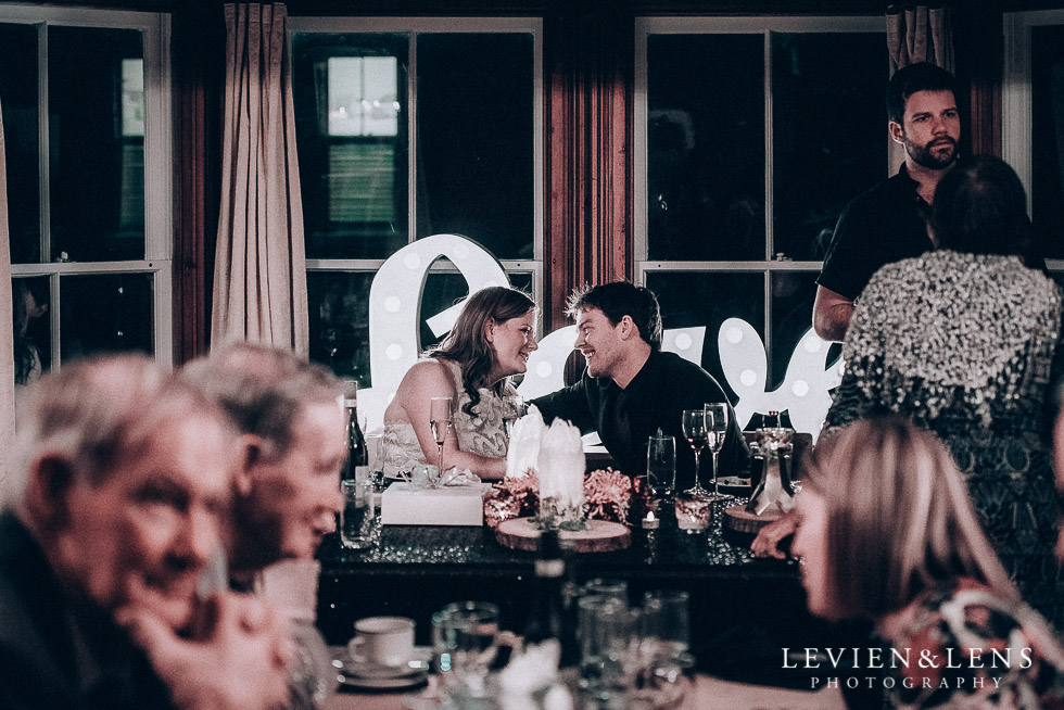 bride and groom at reception - Highwic historic house-museum winter wedding {Auckland NZ lifestyle weddings photographer}