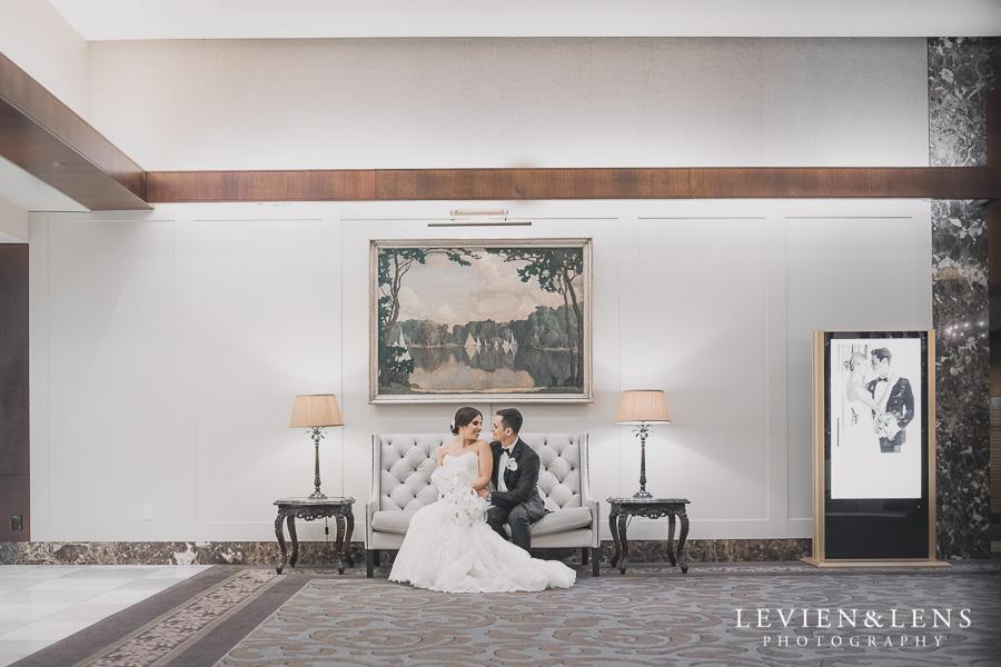 bride and groom - hall Langham Hotel Wedding {Auckland-NZ wedding photographer}
