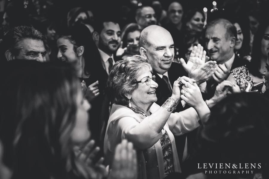 guests dancing - reception Langham Hotel Wedding {Auckland-NZ wedding photographer}