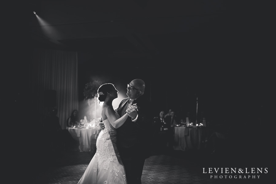 father and daughter dance - reception Langham Hotel Wedding {Auckland-NZ wedding photographer}