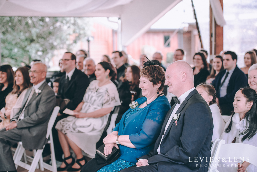 ceremony guests - Markovina Vineyard Estate - Kumeu {Auckland New Zealand wedding photographer}