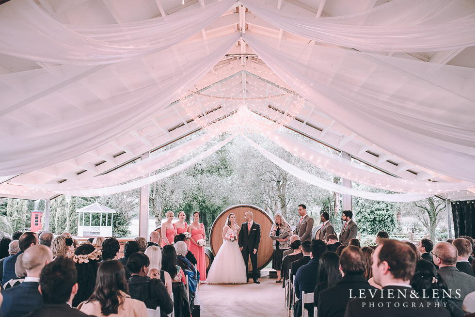 ceremony - Markovina Vineyard Estate - Kumeu {Auckland NZ wedding photographer}
