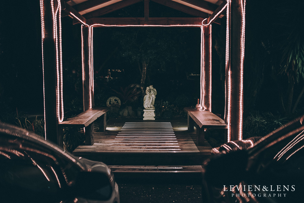 Markovina Vineyard Estate - Kumeu {Auckland wedding photographer} night