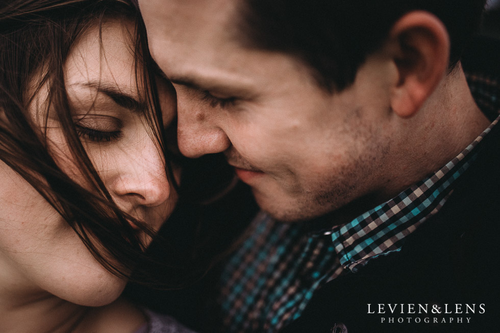 faces intimate - Hamilton Gardens engagement photo shoot {New Zealand wedding - couple photographer}