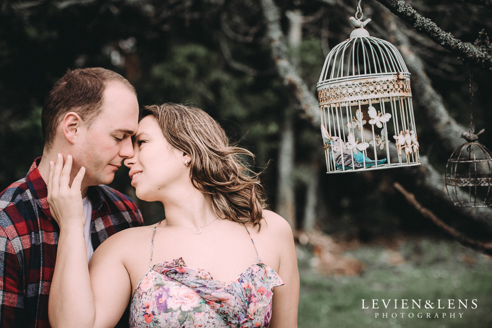 bird cage - Kumeu farm engagement session {Auckland NZ wedding-couples photographer}