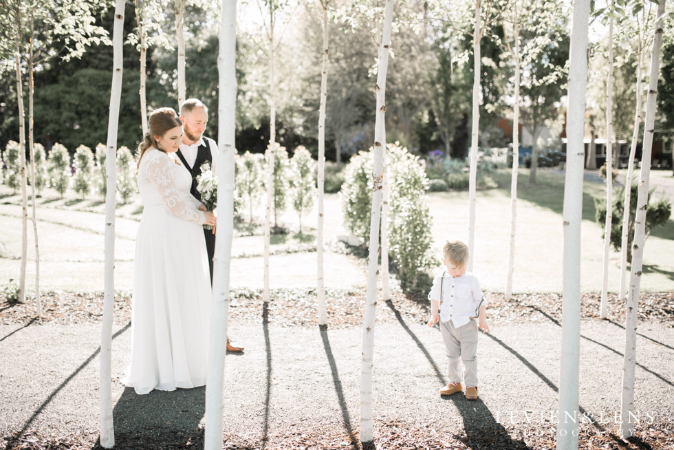 wedding couple - Tree Church Ohaupo {New Zealand wedding photographer}