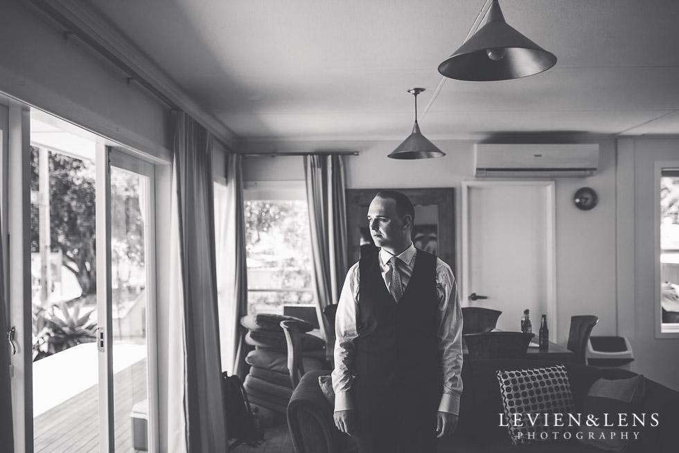 groom - The Duke of Marlborough Hotel - Russel wedding {Northland-New Zealand weddings photographer}