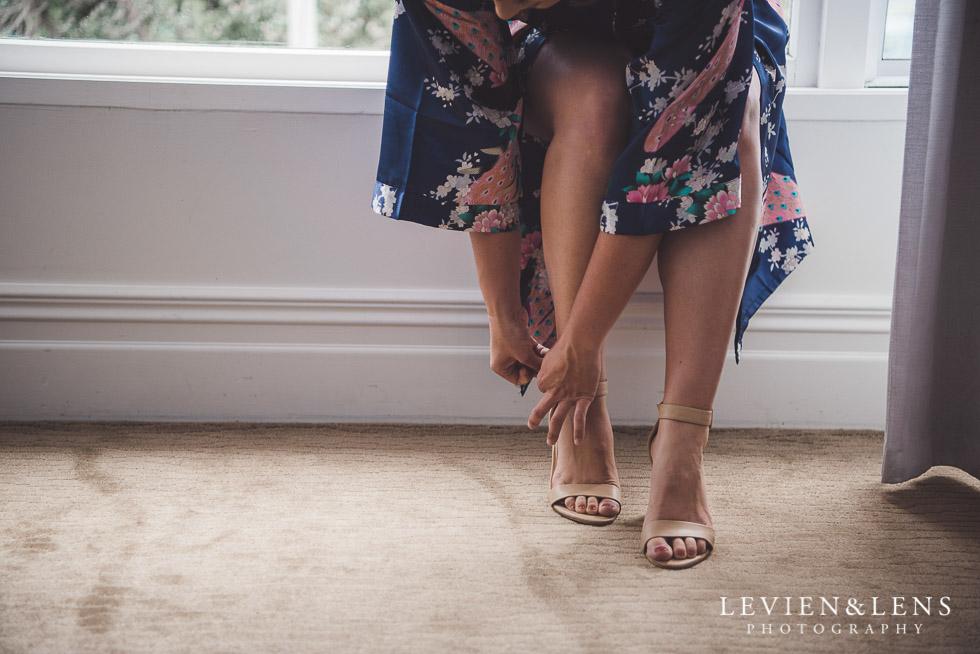 bridesmaids shoes - The Duke of Marlborough Hotel - Russel wedding {Northland-New Zealand weddings photographer}