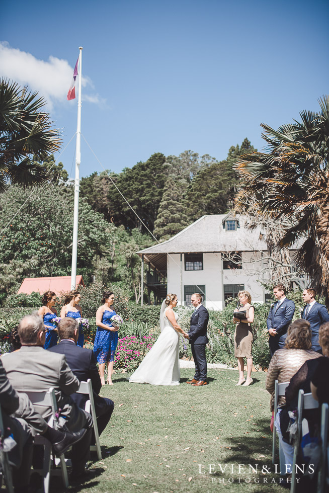 Pompallier Mission Garden ceremony - The Duke of Marlborough Hotel - Russel wedding {Northland-New Zealand weddings photographer}