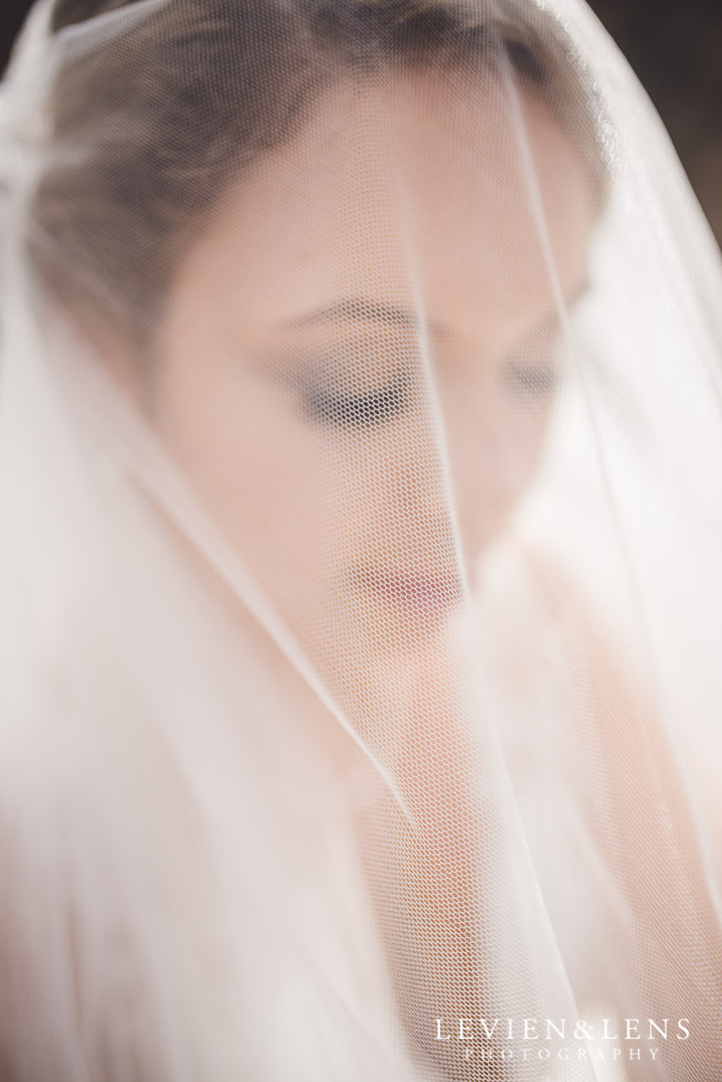 bridal portraiture - bride under veil - The Duke of Marlborough Hotel - Russel wedding {Northland-New Zealand weddings photographer}