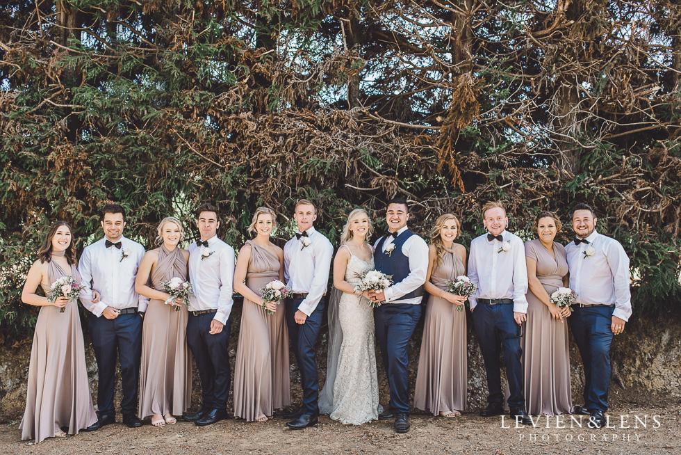 bridal party - Liddington Gardens - Kerkeri Northland {NZ destination wedding photographer}