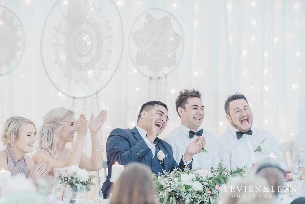 candid moments reception - Liddington Gardens - Kerkeri Northland {NZ destination wedding photographer}