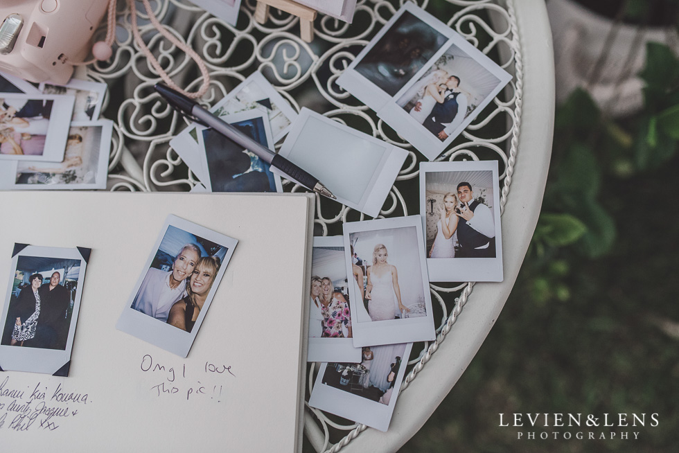 photos polaroid - Liddington Gardens - Kerkeri Northland {NZ destination wedding photographer}