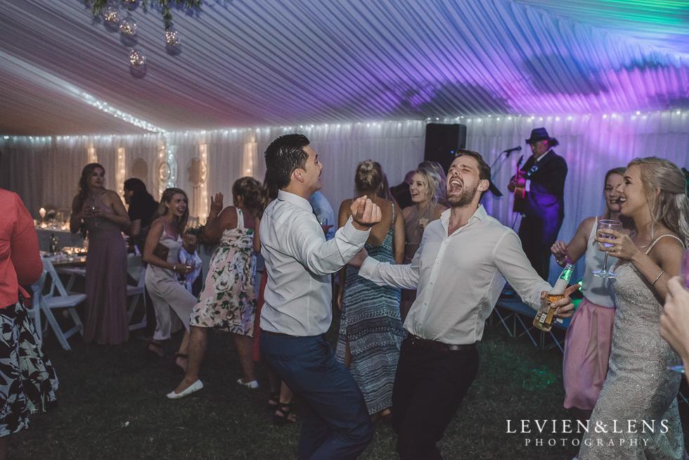 guests dancing reception - Liddington Gardens - Kerkeri Northland {NZ destination wedding photographer}