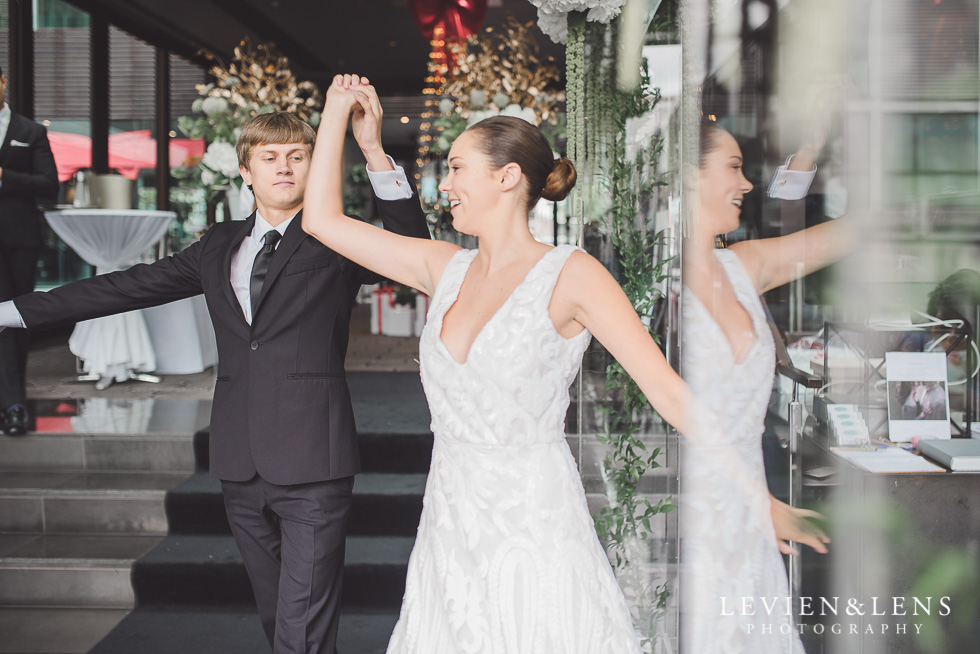 wedding dance - Trish Peng Christmas Bridal High Tea - Sofitel Viaduct Hotel {Auckland wedding photographer}