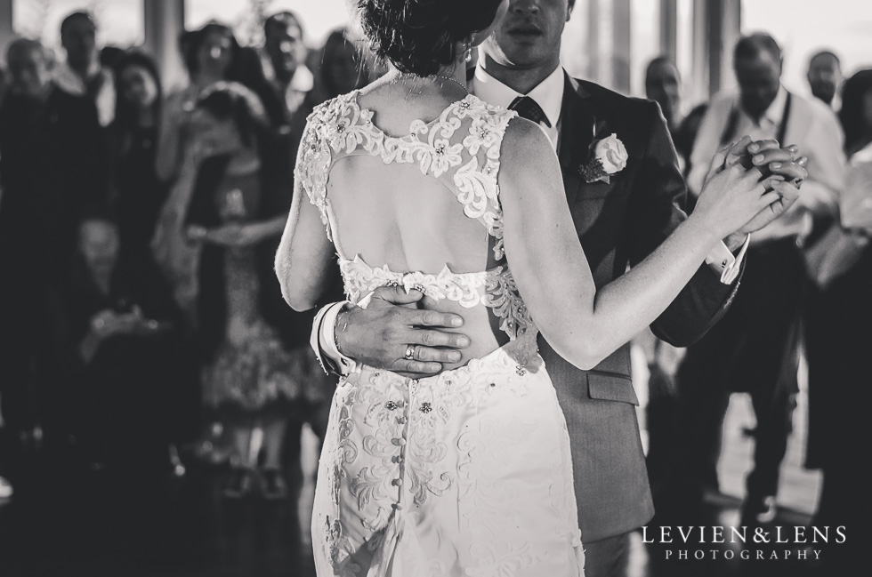 bride and groom dancing - Wedding Anniversary {Auckland wedding - photographer} Castaways - first dance