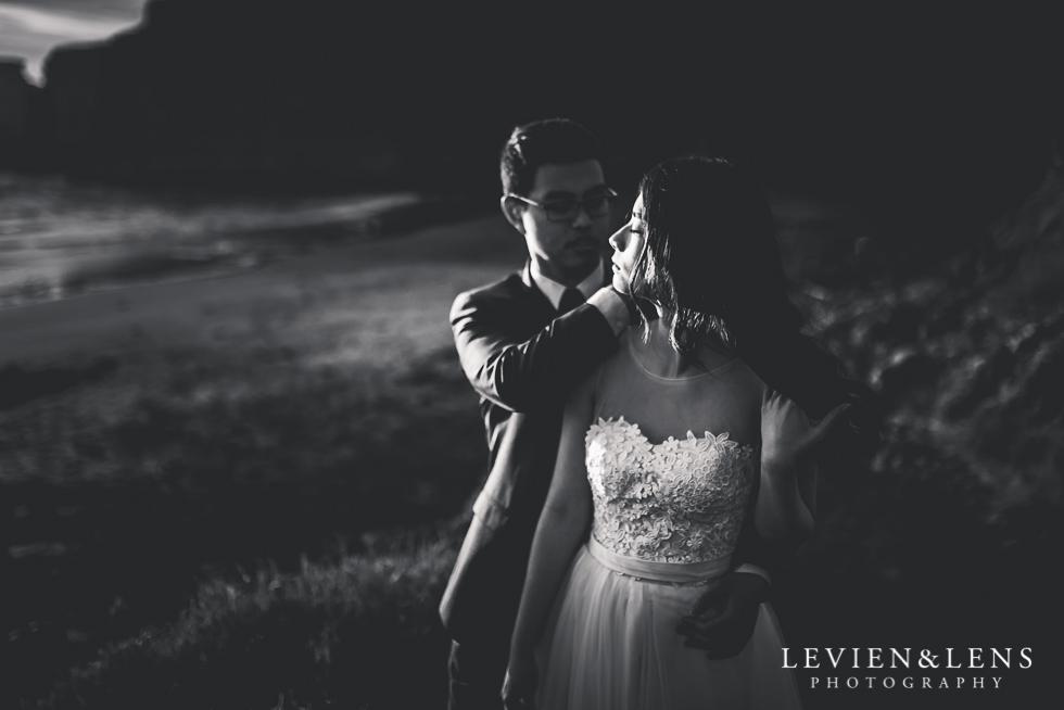 Pre-wedding engagement photo shoot - Muriwai Beach {Auckland wedding photographer}