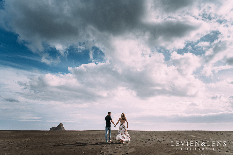Auckland fine art engagement pre-wedding photography
