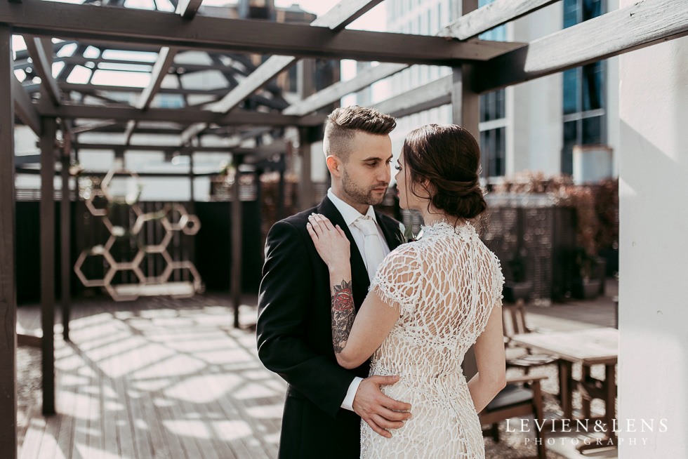 Auckland City Styled Shoot {New Zealand wedding photographer} Chancery Chambers rooftop terrace