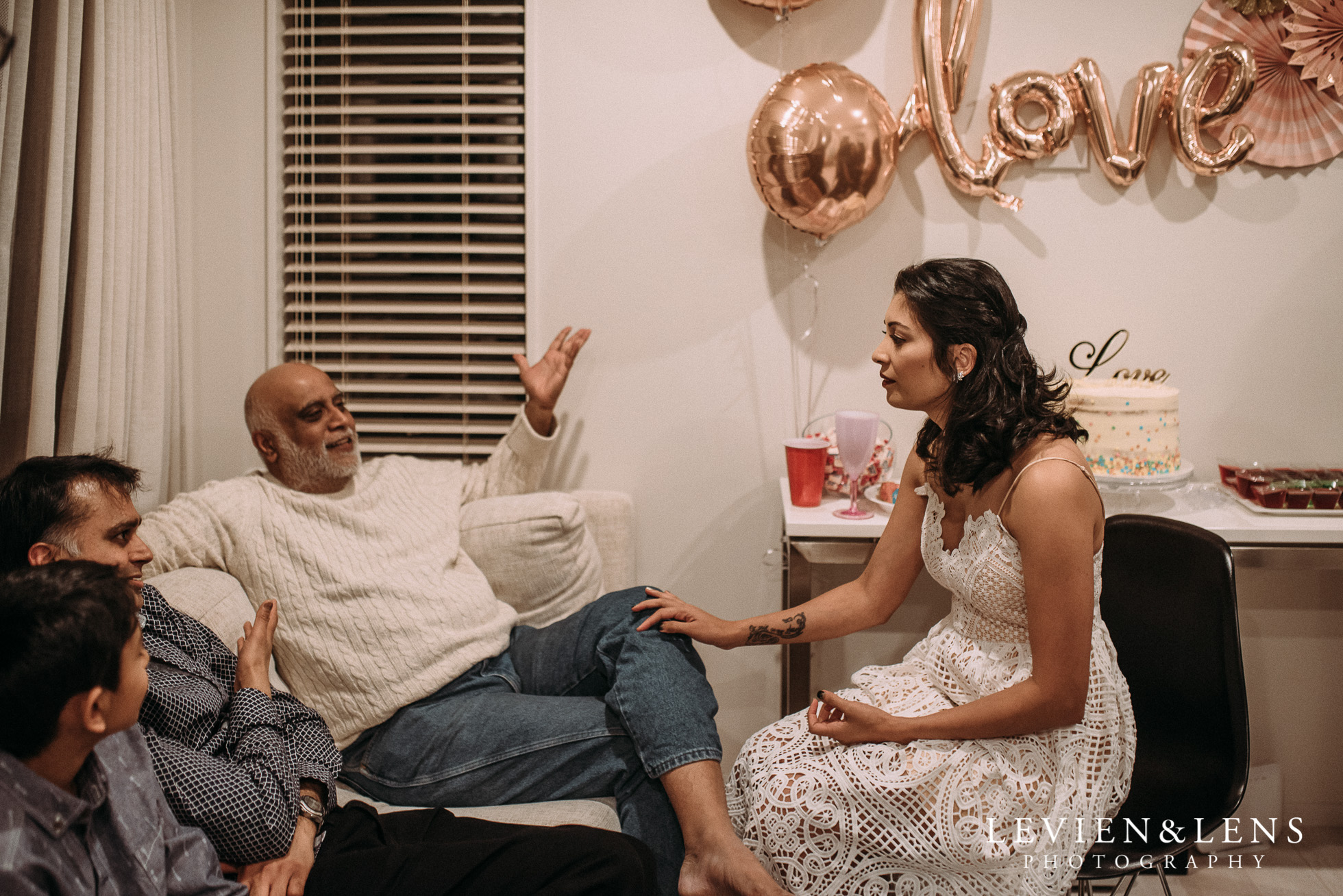 Karaka - South Auckland in-home Engagement Party {New Zealand wedding photographers}