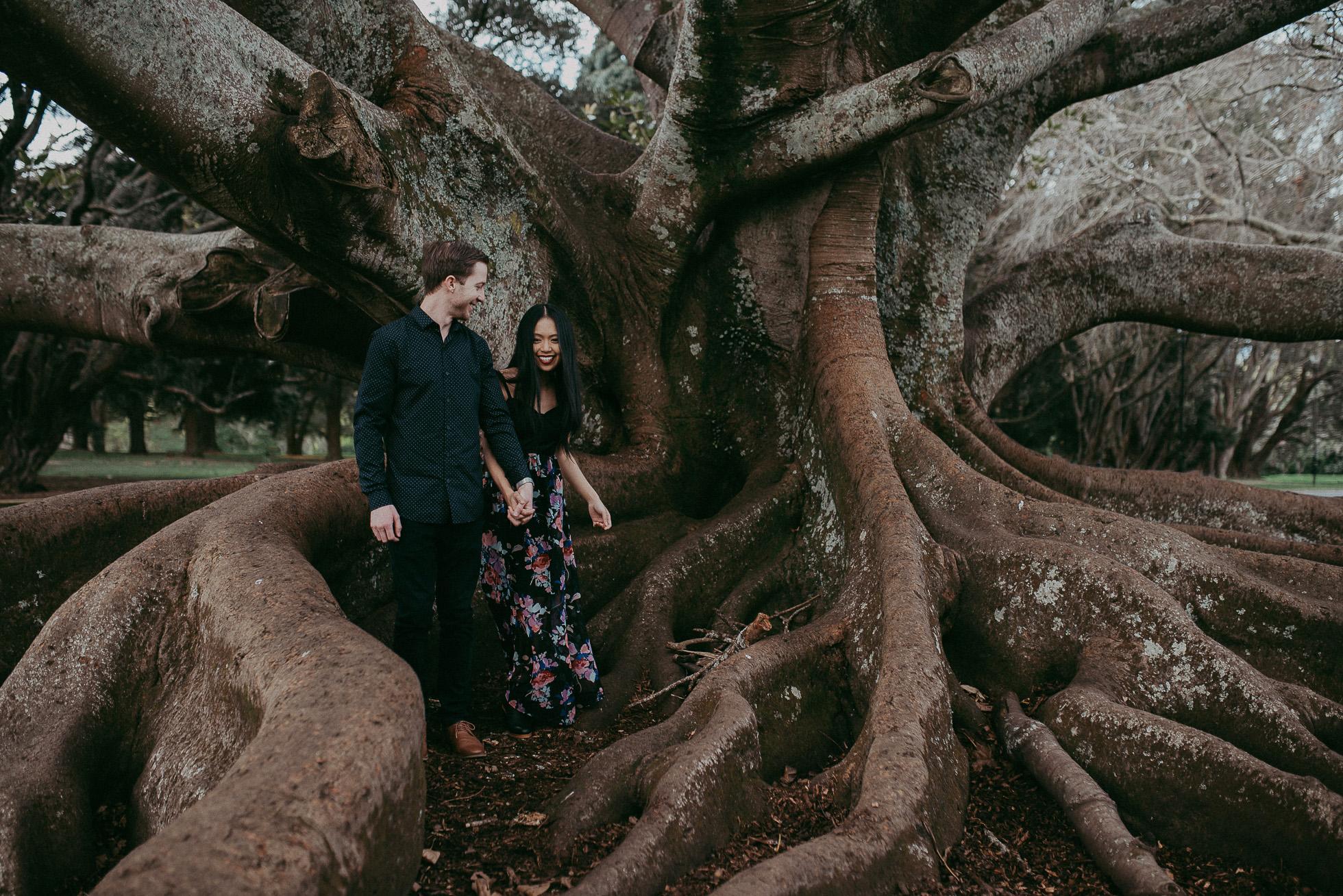 Auckland Domain engagement session {New Zealand wedding photographer}