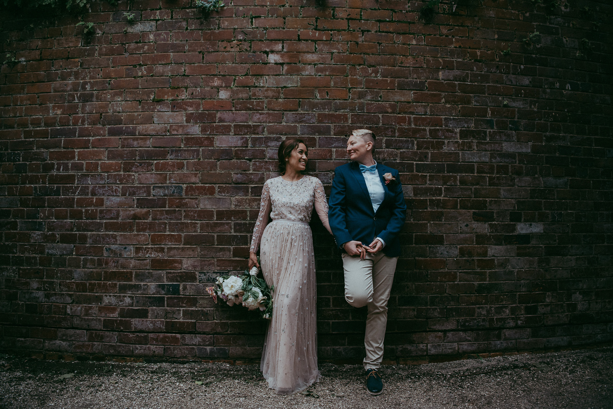 Auckland City WEDDING - Domain {New Zealand elopement-weddings photographers} WinterGardens