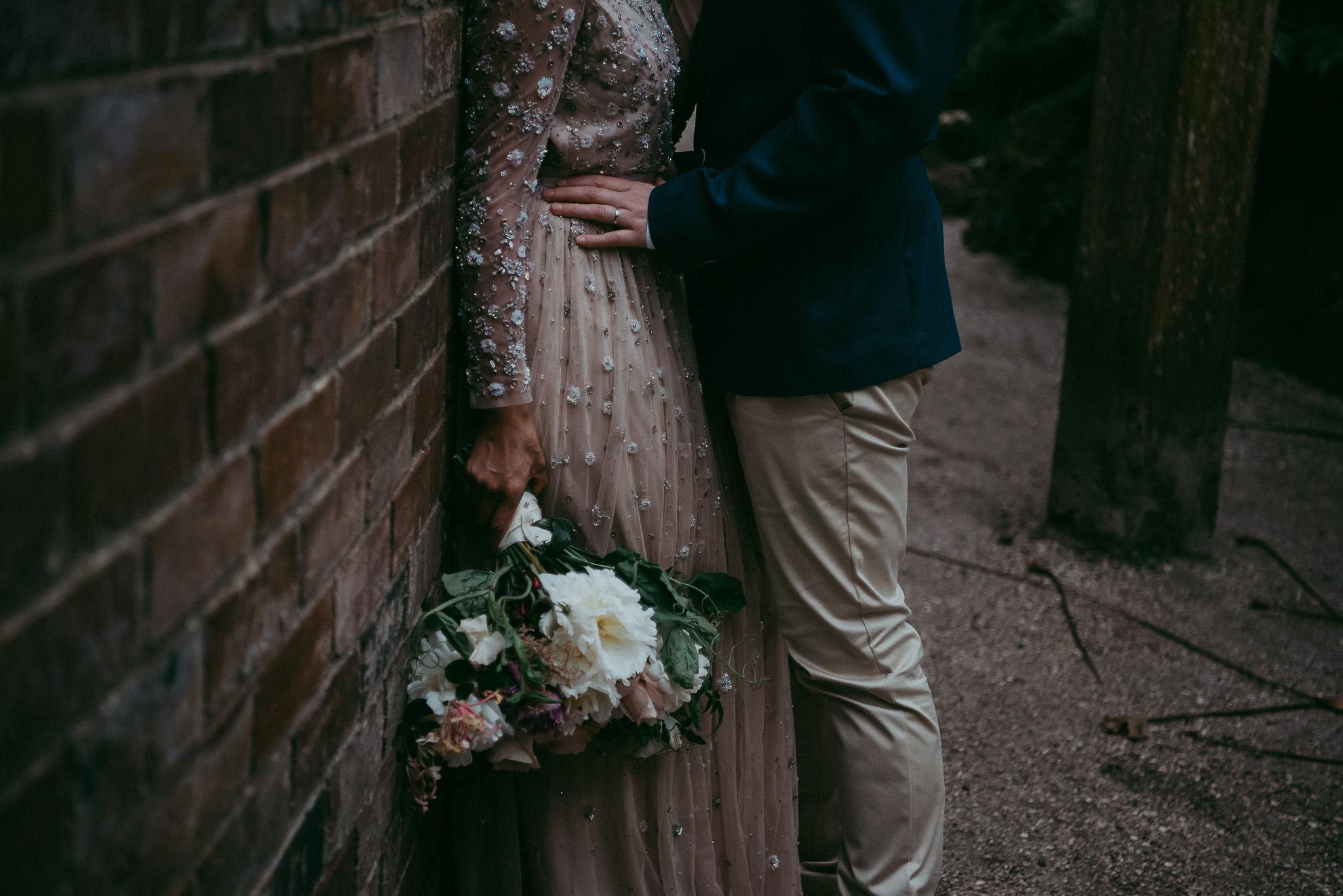 Auckland City WEDDING Wintergardens - Domain {New Zealand elopement-weddings photographers}