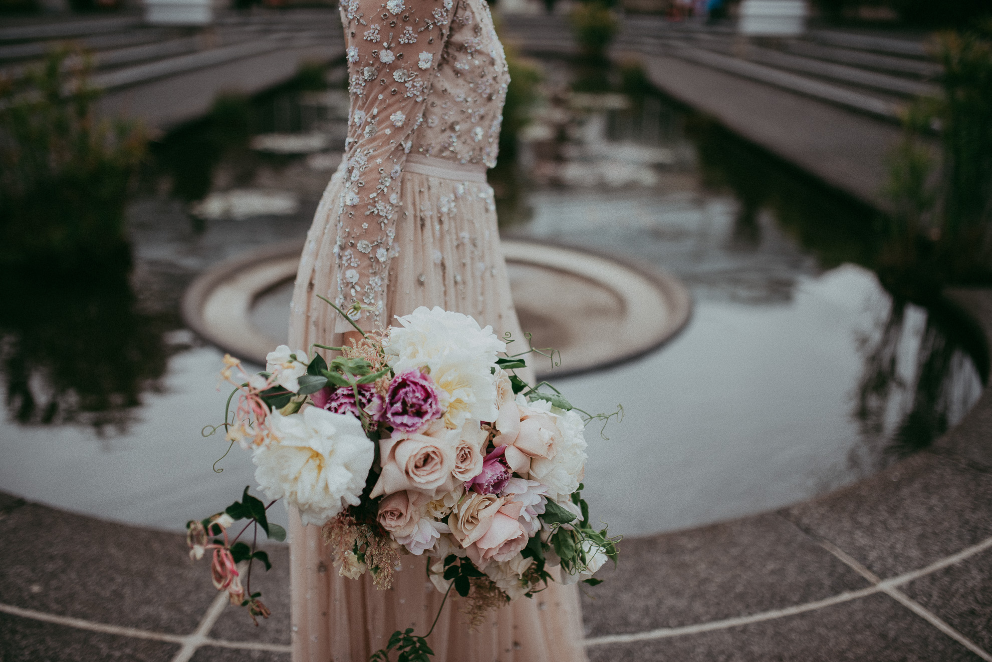 Auckland City WEDDING - Wintergarden Domain {New Zealand elopement-weddings photographers}