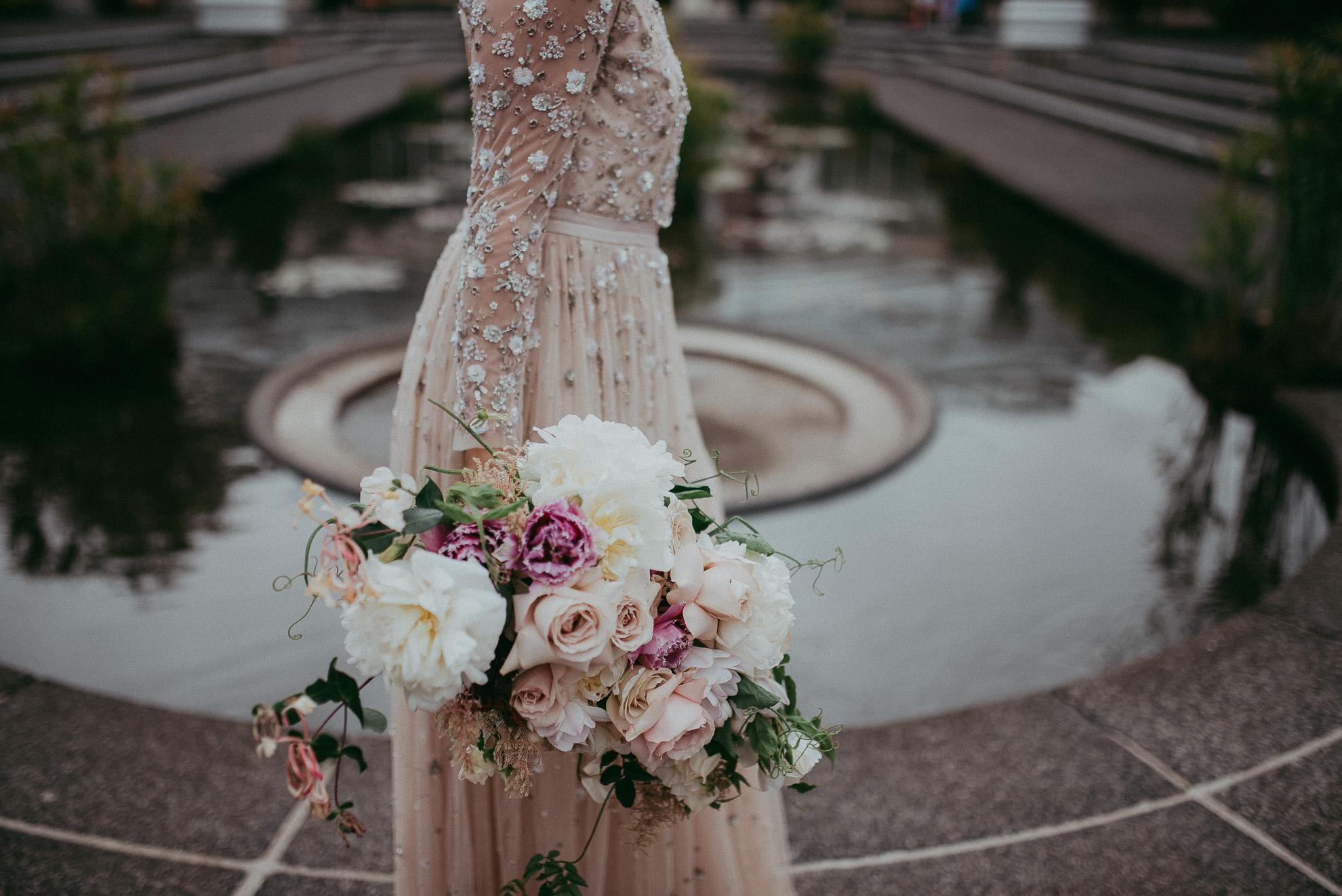 Auckland City WEDDING - Wintergarden Domain {New Zealand elopement-weddings photographers}