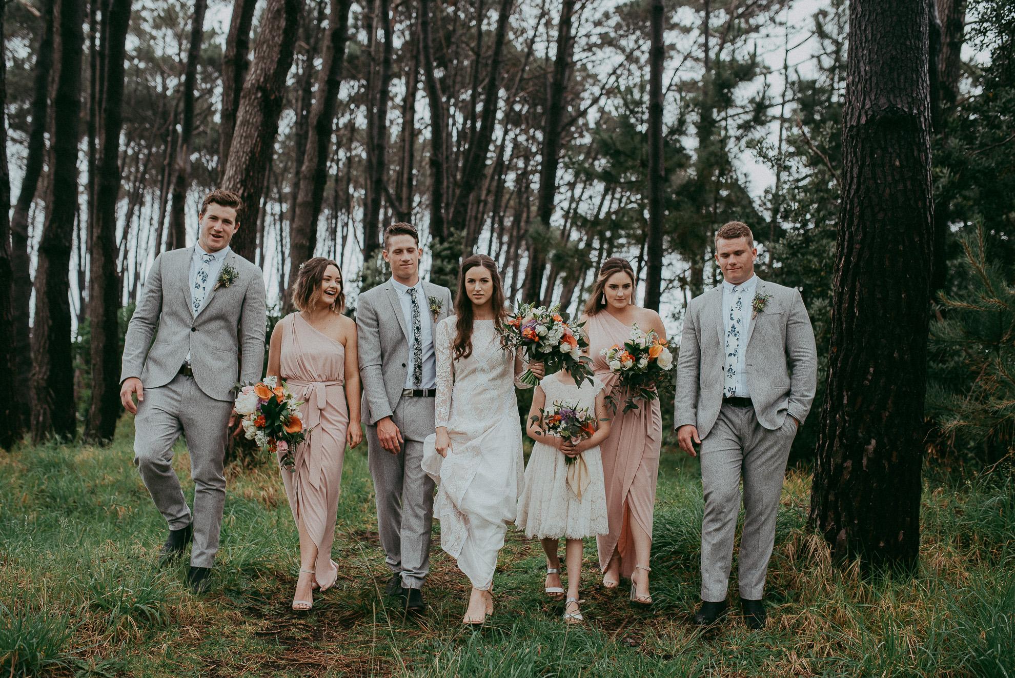 Woodhill Forest - Muriwai Beach {Aukland wedding photographer}