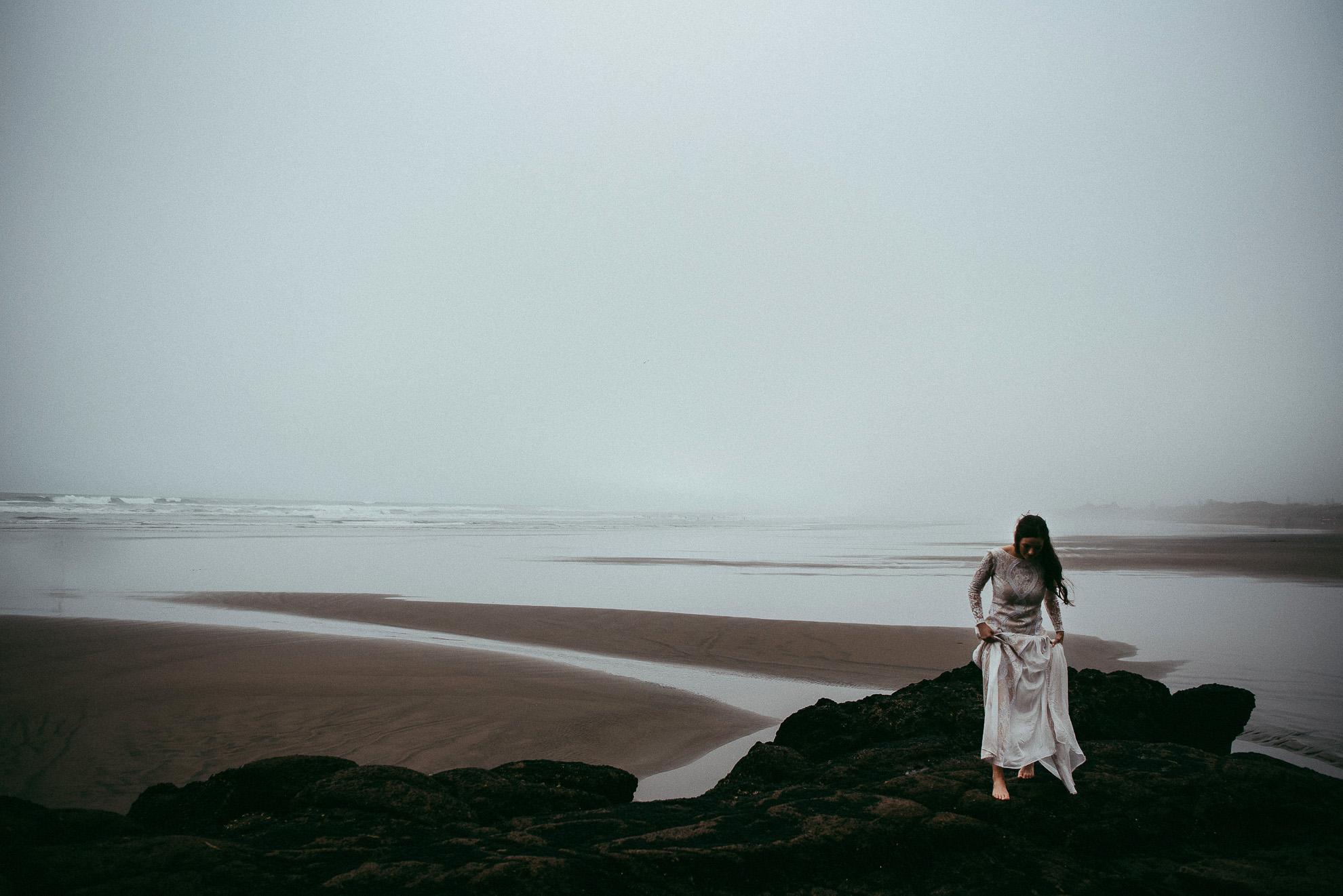 Muriwai Beach {Auckland first great wedding photographers}