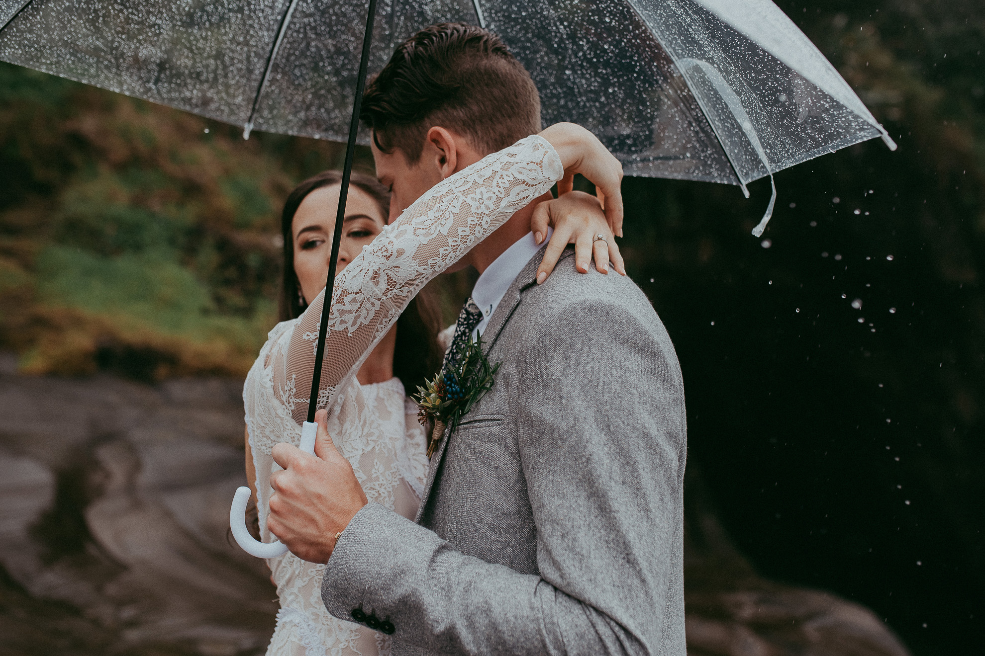 Muriwai Beach {Auckland documentary candid natural wedding photographers}