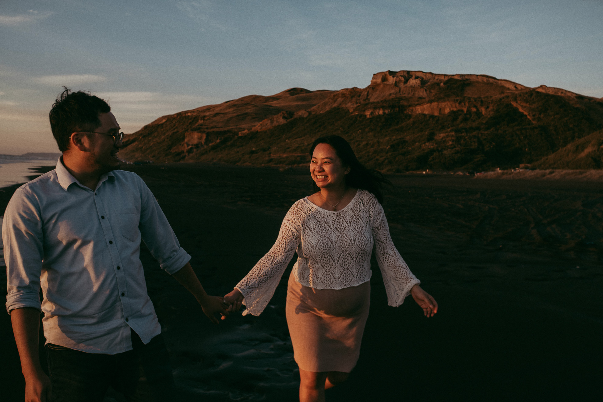 Sunset Couples Session {Auckland wedding photographer}