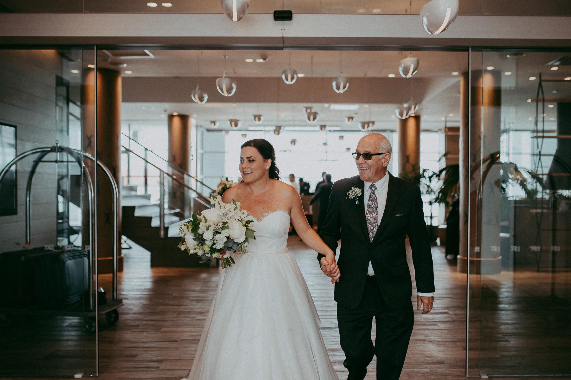 Auckland wedding - documentary weddings photographers Hilton