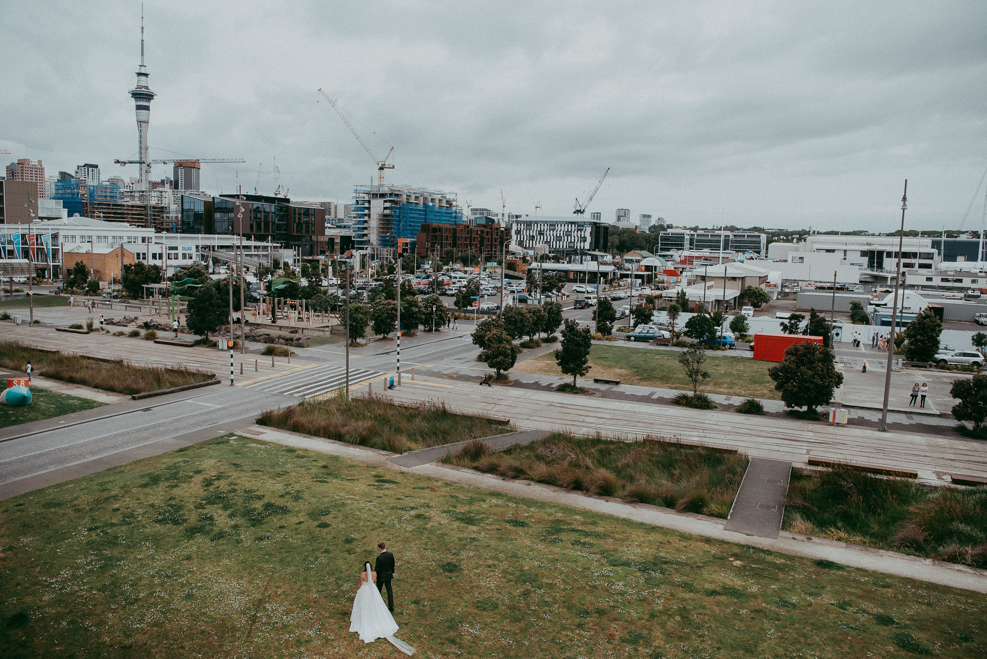 Auckland City wedding - candid documentary first wedding photographer