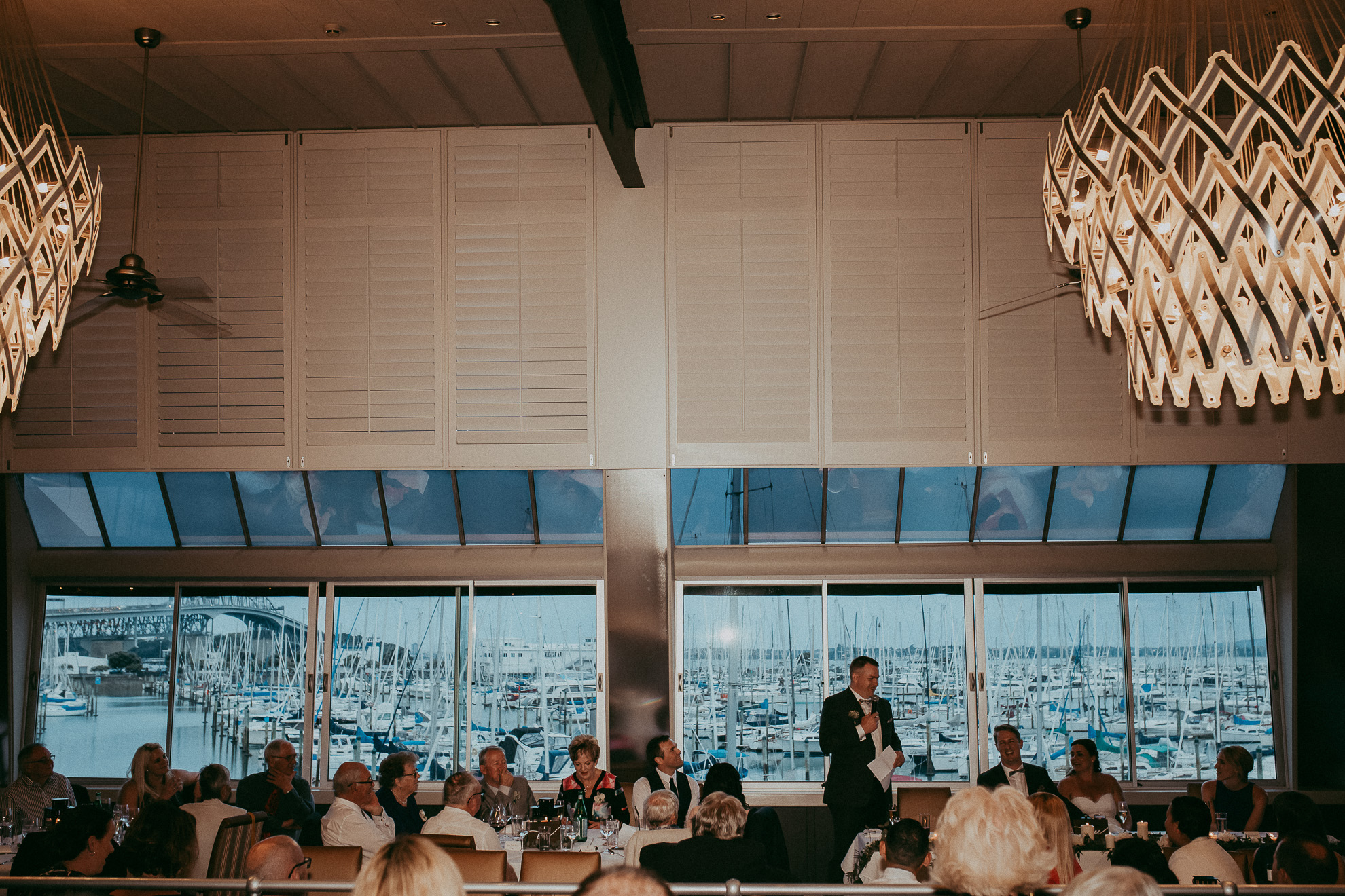 Sails - Auckland City wedding - natural documentary top weddings photographers