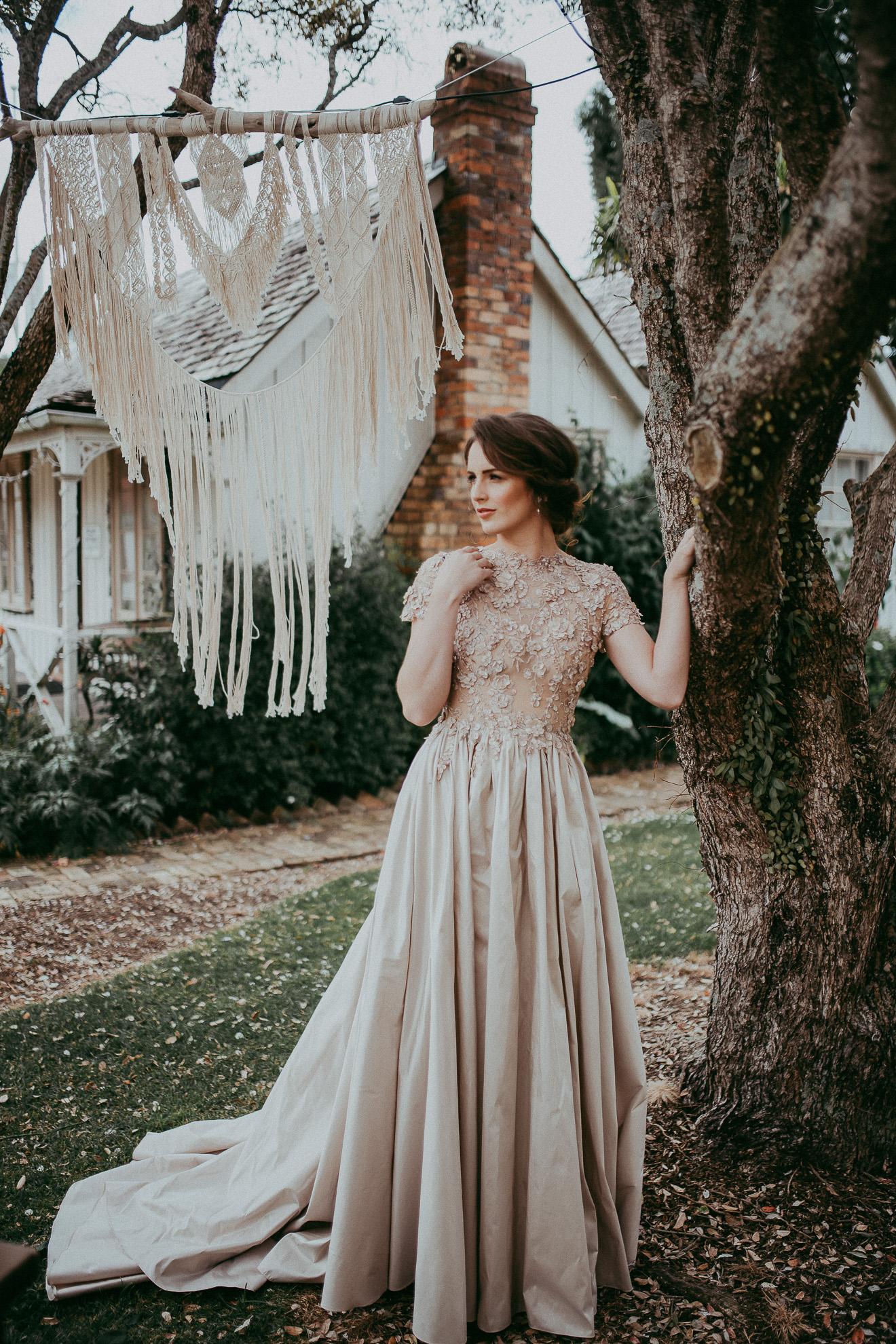 bride at the MOTAT {Auckland wedding photographers}