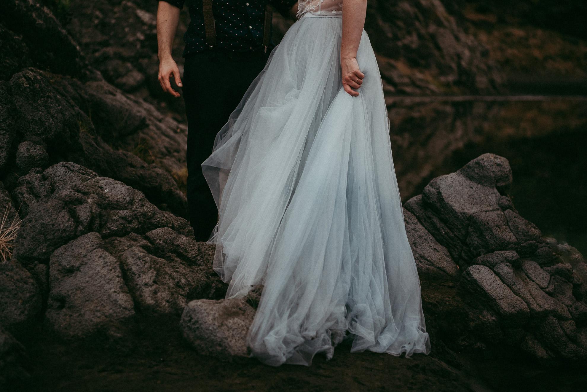 New Zealand elopement beach photographer - artistic wedding photography in Auckland