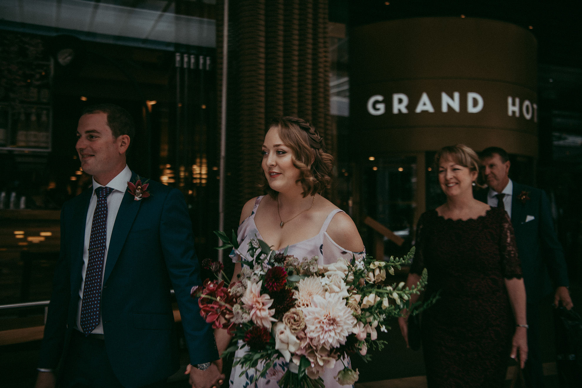 Auckland City + Domain elopement {New Zealand wedding photographer}