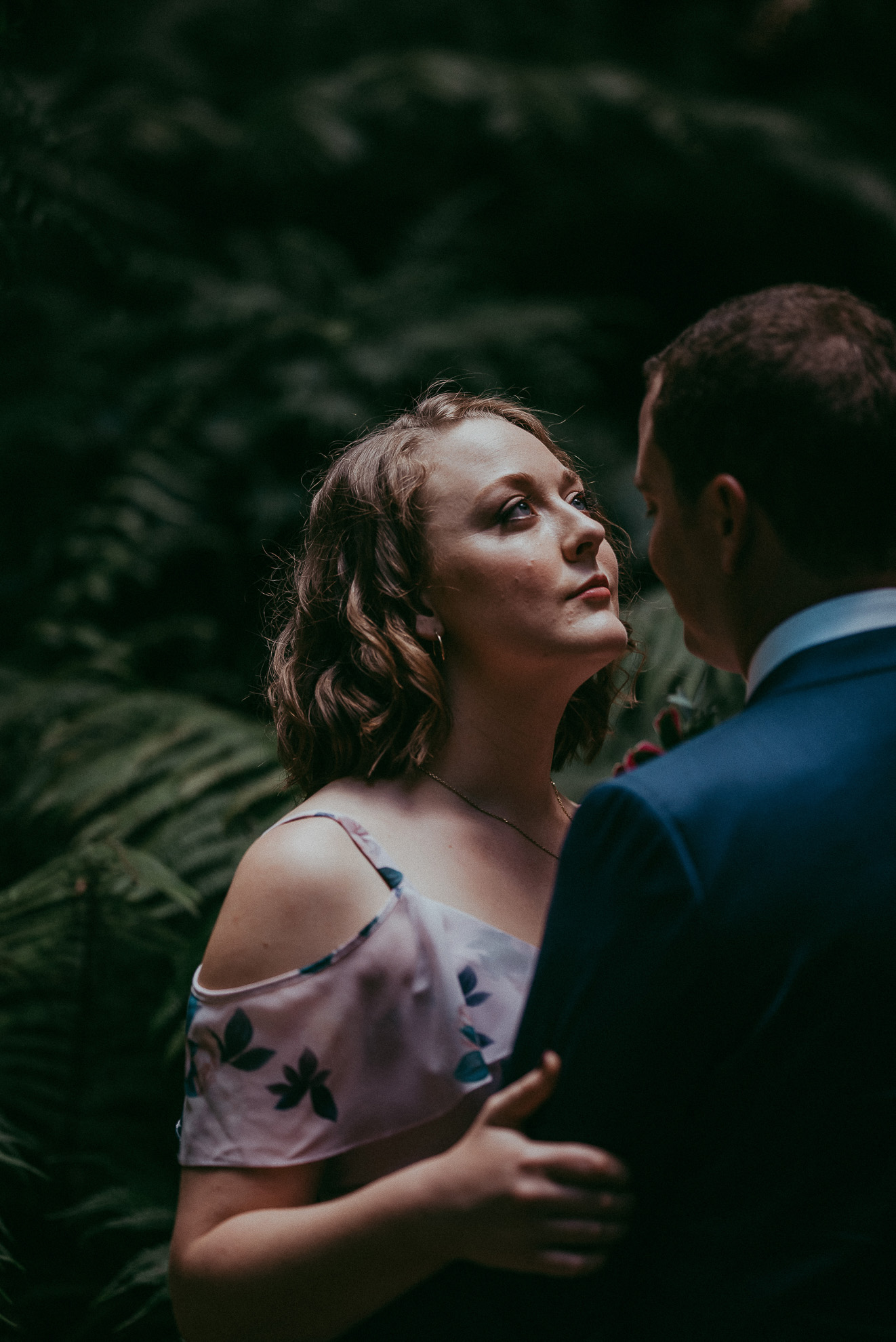 Auckland City + Domain elopement: Bianca and Matt {New Zealand wedding photographer}