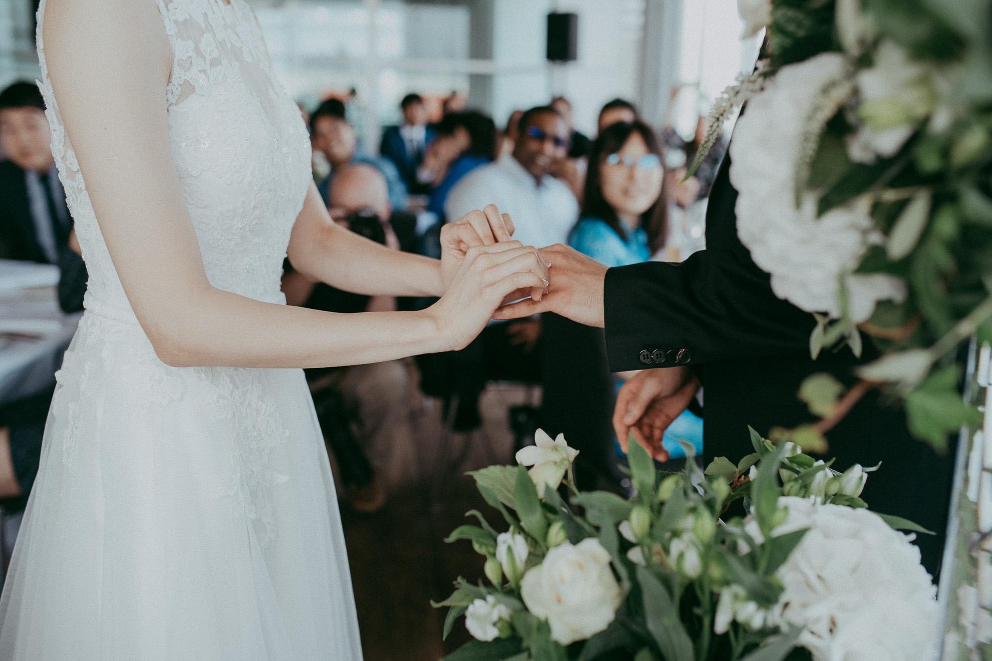 Hilton - Fish {wedding photographers in Auckland}