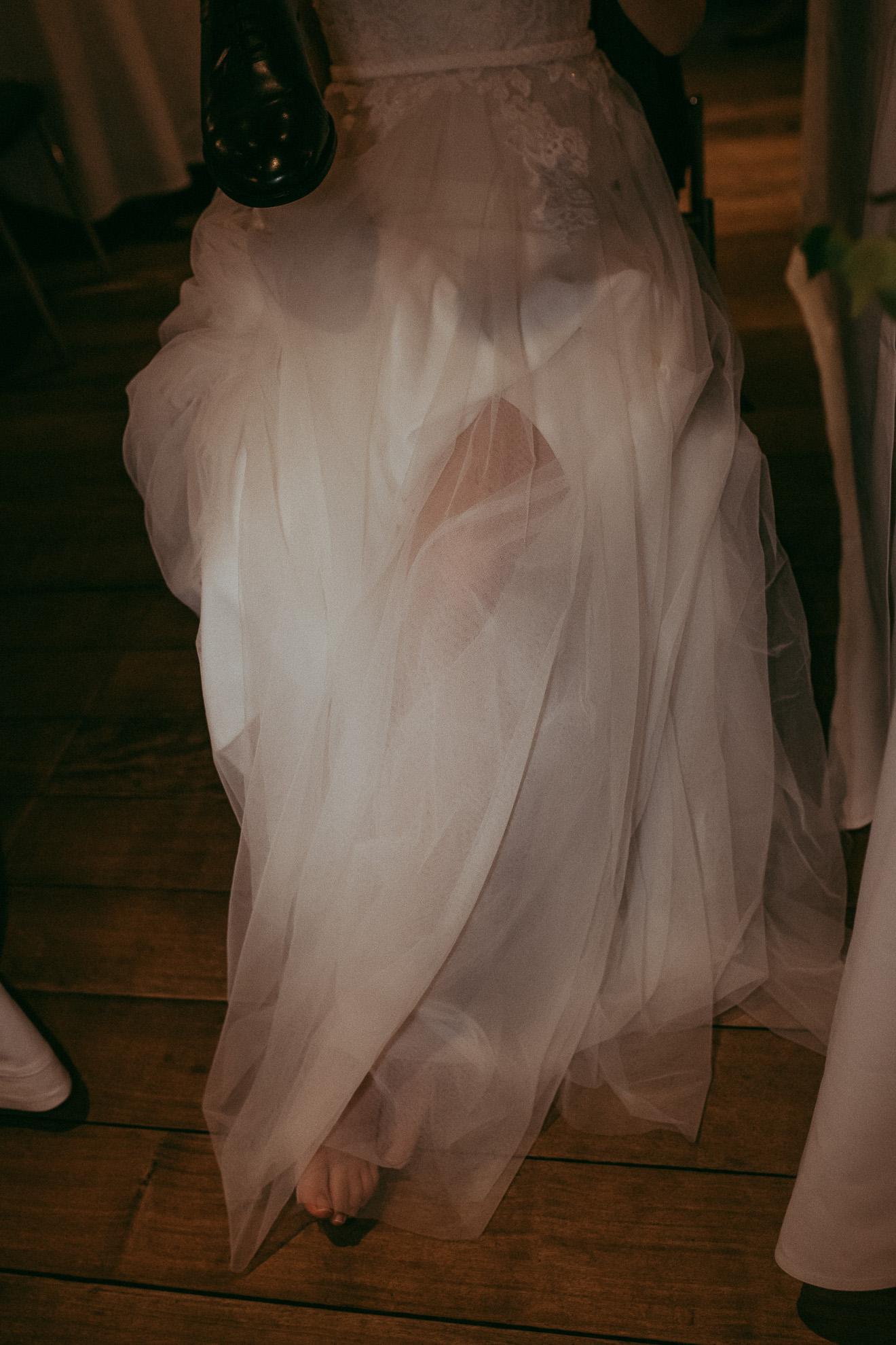 wedding details - reception - wedding dress {Auckland elopement photographer}