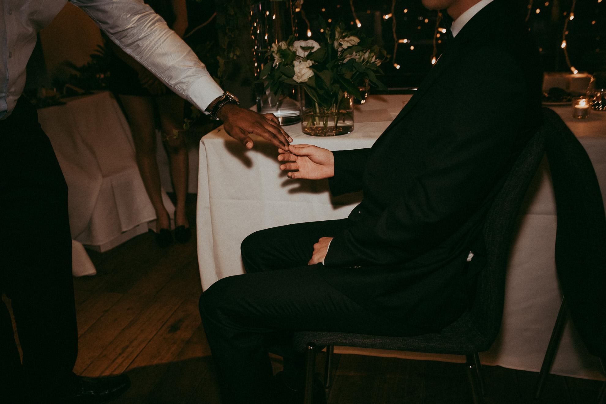 Hilton hotel - Fish restaurant {wedding photographers in Auckland-NZ}